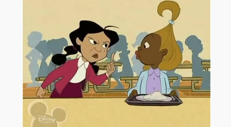 "Dijonay Jones is a character from the Disney Channel animated series ""The Proud Family."""