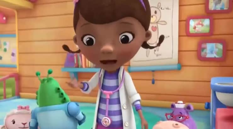Premiering in 2012, Doc McStuffins follows a 6-year old girl who takes care of her stuffed animals.