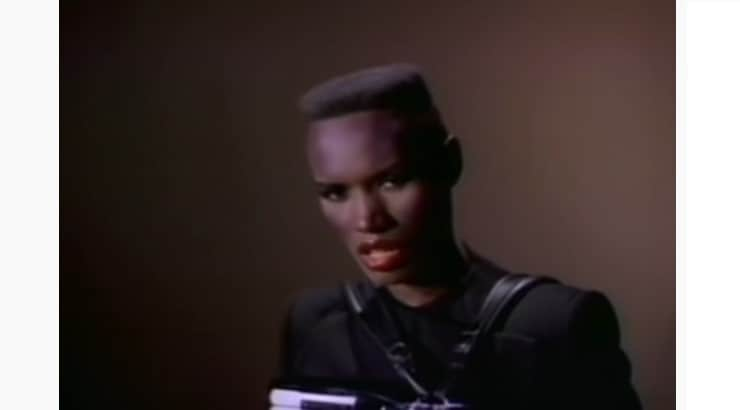 Known for her modeling and acting, Grace Jones is also recognized as a fashion icon.