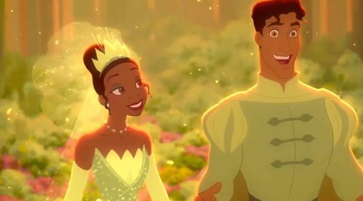 "The first black Disney princess, Tiana is the star character of the film ""The Princess and the Frog."""