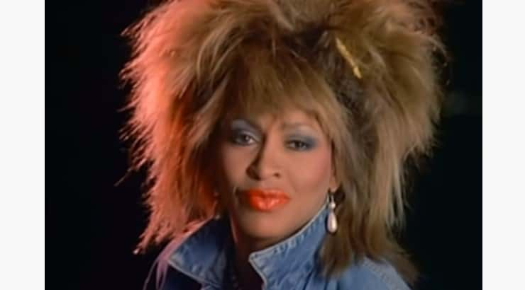 "Tina Turner is a singing diva who is known for songs like ""What's Love Got to Do With It"" and ""Proud Mary."""