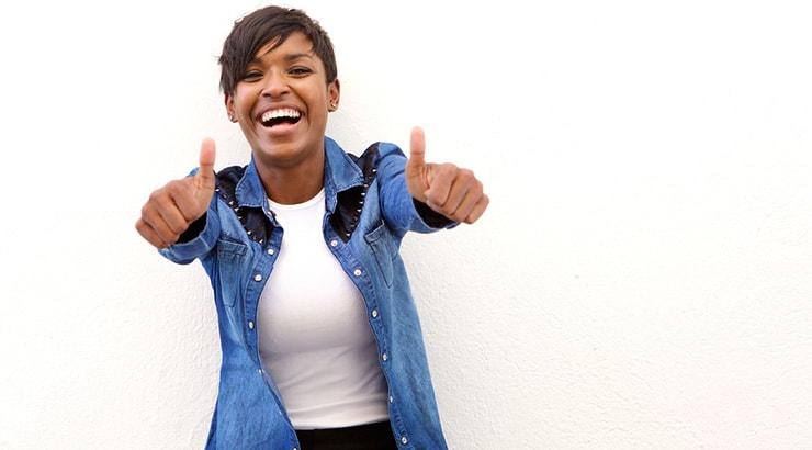 Black Woman Healed Her Black Thin Hair Problems