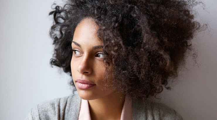 Detangling hair from root to tip is a big mistake and can lead to further breakage.