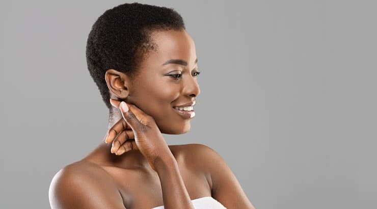 Exfoliating is a great way to soften the skin while also brightening it of dull, dead cells.