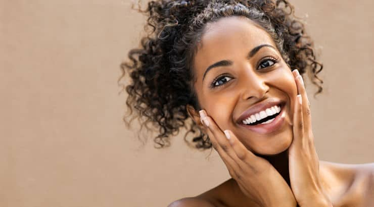 Exfoliating helps the skin with its texture while also allowing other products to penetrate the skin.