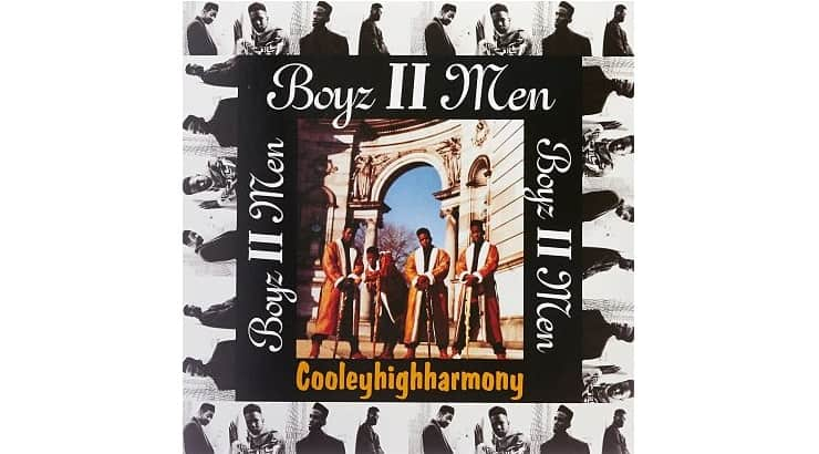 """Boyz II Men's first album """"Cooleyhighharmony"""" features their hit single """"Motownphilly."""""""