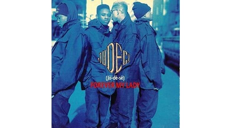 """In 1991, R&B group Jodeci released their debut album """"Forever My Lady."""""""