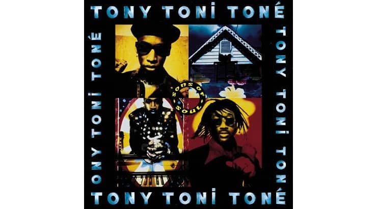 """Tony! Toni! Tone! released singles """"Anniversary"""" and """"(Lay Your Head on My) Pillow"""" on their 1993 album """"Sons of Soul."""""""