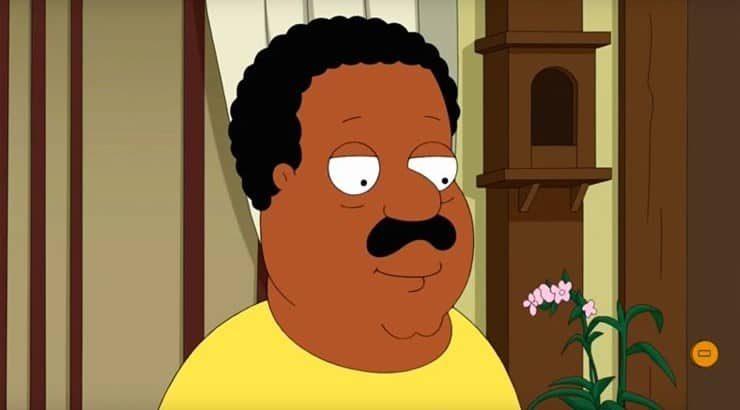 "The Cleveland Brown character first began on ""Family Guy"" before receiving his own series."