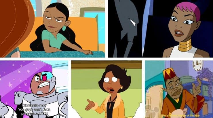 Penny Proud and Doc McStuffins are two popular black characters from different generations.