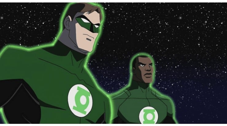 Formerly a marine man, John Stewart's character is a co-founder of the Justice League.