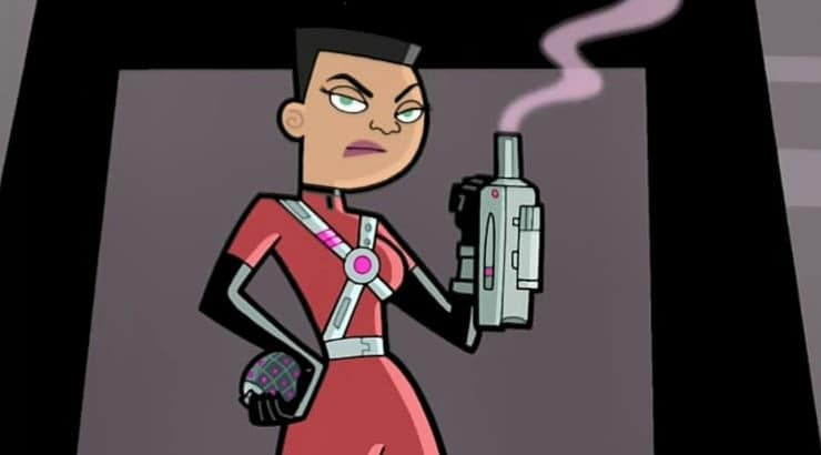 "Valerie Grey is a ghost hunter on the Nickelodeon series ""Danny Phantom."""