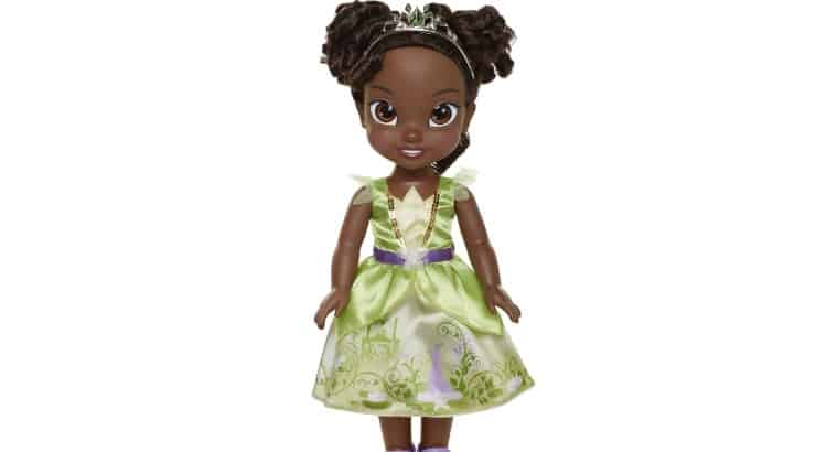 "Disney's Tiana doll is modeled after the princess from their 2009 film ""The Princess and the Frog."""