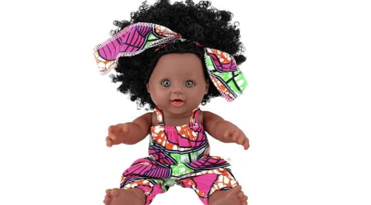 TUSALMO's 2020 doll features it in different African ankara prints.