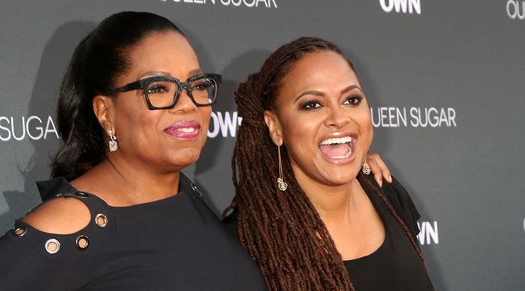 Oprah And A Film Director