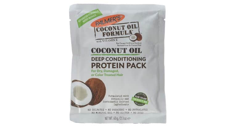 Tahitian Monoi is a unique but highly beneficial ingredient in Palmer's Coconut Oil protein pack.