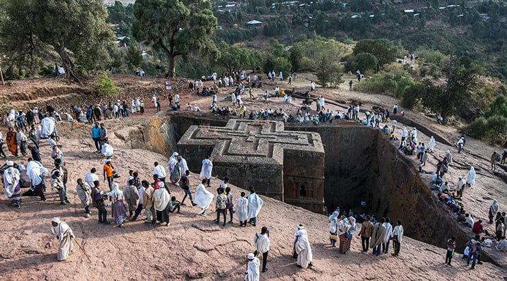 Explore The Rock Churches Of Lalibela