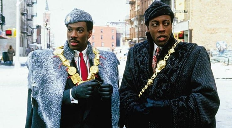 """Prince Akeem is a character from the 1988 film """"Coming to America"""" starring Eddie Murphy."""