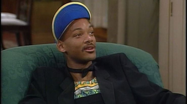 """Will Smith's character from """"The Fresh Prince of Bel-Air"""" is known for his bright outfits and eclectic patterns."""