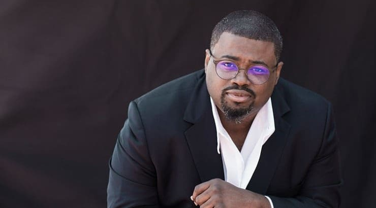 Russell Thomas is a black opera singer who has been praised for his tenor voice.