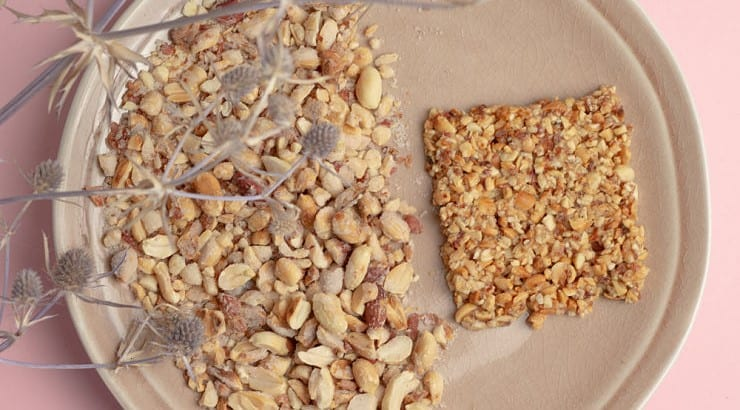 Nkate Cake is a peanut brittle alternative from Ghana.