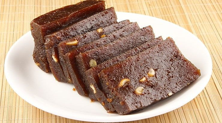 Halwa is a heavily spiced dessert from Somalia.