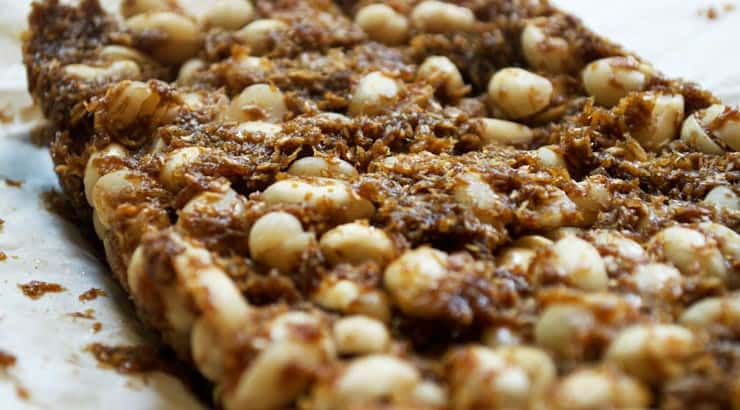 Another dessert similar to peanut brittle, Kashata is a coconut peanut brittle from Tanzania.