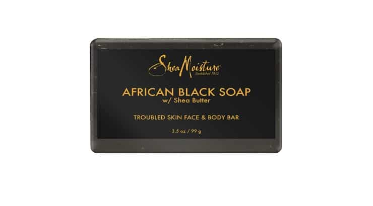 SheaMoisture African Black Soap is a great cleansing and clariifying soap.