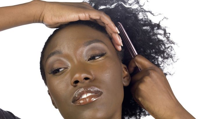 Hair detangling should always begin at the ends before working the way up.