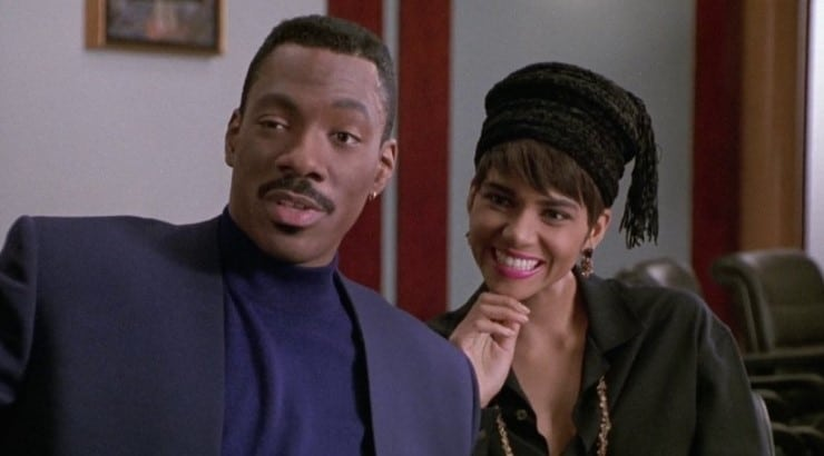 Boomerang is the 1992 romantic comedy starring Eddie Murphy, Robin Givens, and Halle Berry.