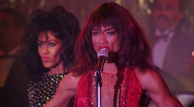 "Angela Bassett stars as Tina Turner in the biographical film ""What's Love Got to Do With It."""