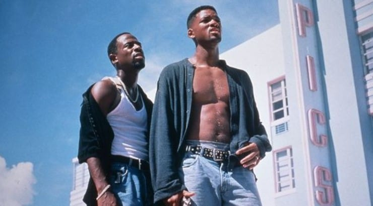 Bad Boys is the crime comedy starring Martin Lawrence and Will Smith as two Miami PD narcotics detectives.