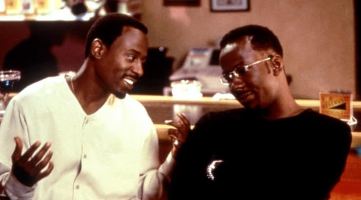 A Thin Line Between Love and Hate is a comedy/drama starring Martin Lawrence, Lynn Whitfield, and Bobby Brown.