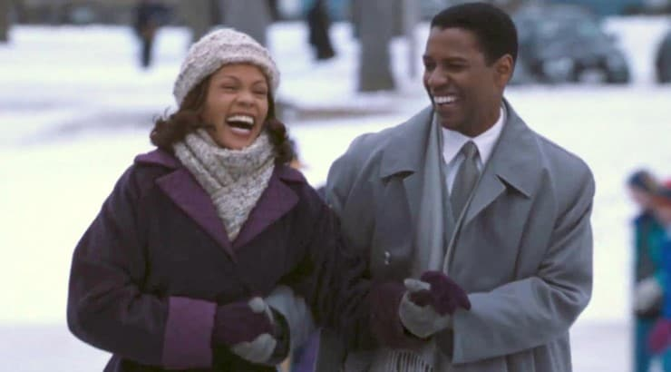 The Preacher's Wife is the 1996 comedy/drama starring Whitney Houston and Denzel Washington.