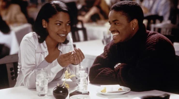 Loves Jones is the 1997 romance film starring Nia Long and Larenz Tate as a photographer and writer, respectively, who fall in love with each other.