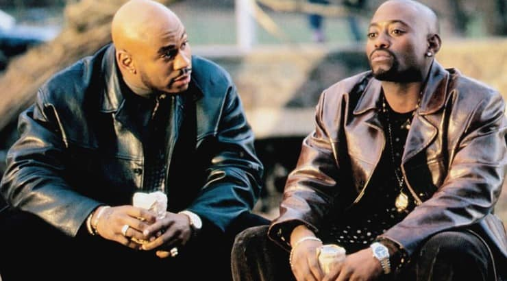 In Too Deep stars Omar Epps as an undercover cop who tries to infiltrate a drug ring led by LL Cool J's character, God.