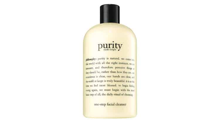 Philosophy Purity Facial Cleanser is a best-selling gentle face product that is one of the best-selling cleansers in the country.