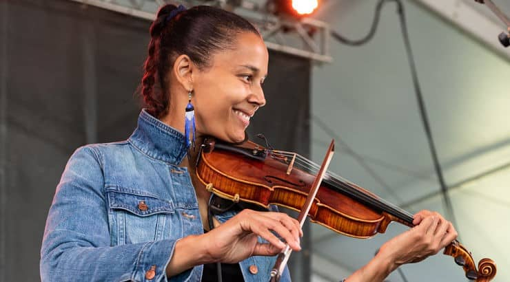 Rhiannon Giddens is the mastermind behind Carolina Chocolate Drops and Our Native Daughters.