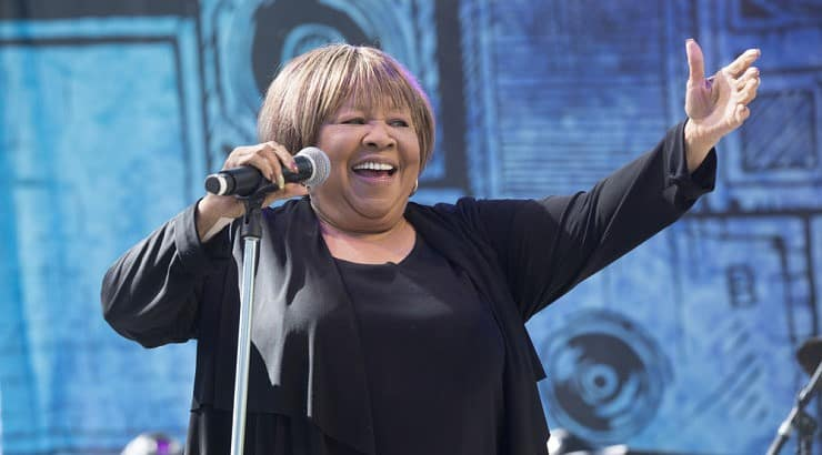 Mavis Staples began her career in the 1950s in her family group The Staples Singers.