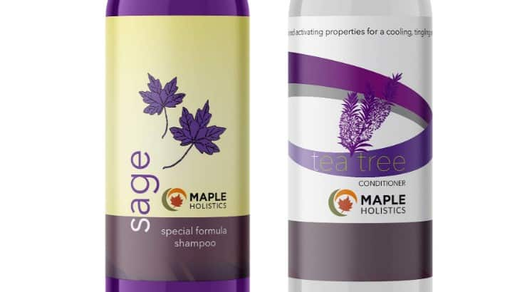 Maple Holistics dandruff shampoo targets dandruff, itchiness, and irritation.