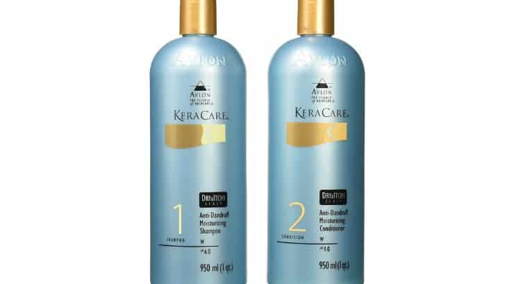Avlon KeraCare Dandruff Shampoo protects against dryness and prevents flaky scalps.