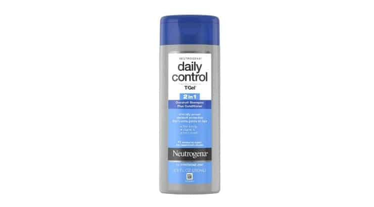 The Neutrogena T/Gel Daily Control Anti-Dandruff Shampoo is a healing and soothing shampoo that is safe for daily use.