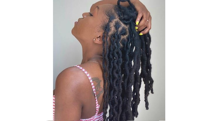 Instead of straight dreads, adding a wavy pattern to the hair is possible for some styles.