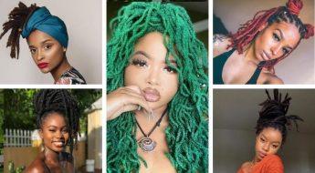 Dreadlock Styles For Black Women; Short & Long Dread Ideas
