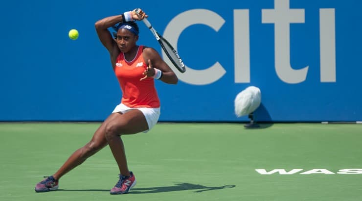 Coco Gauff is the youngest ranked player in the WTA in 2020.