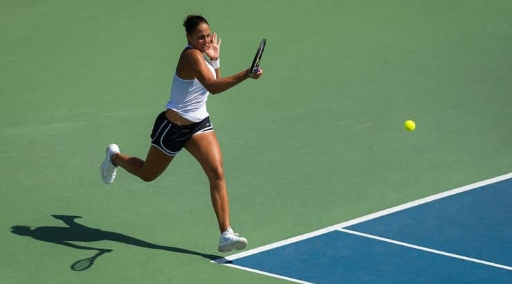 Madison Keys began playing tennis so she could own a white tennis dress similar to Venus Williams during a Wimbledon tournament.