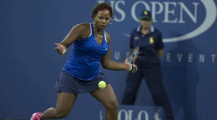 Taylor Townsend is participating in the 2020 semifinals of the US Open.