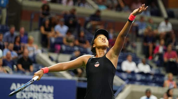 Although living in California, Naomi Osaka represents her native born country, Japan, in all her professional competitions.