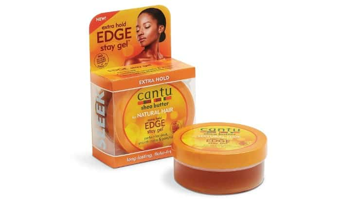Cantu Extra Hold Gel is made with shea butter which is another popular moisturizing ingredient in haircare products.