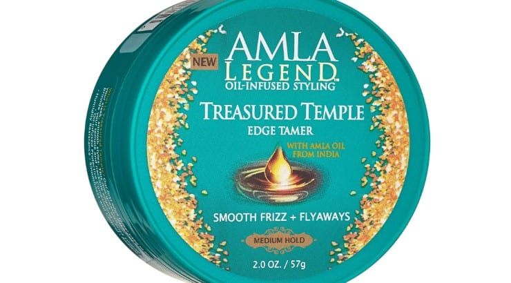 Amla Legend Treasured Temple Edge Tamer is a medium hold edge control perfect for relaxed hair.